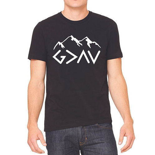 God is greater t-shirt Bella Canvas