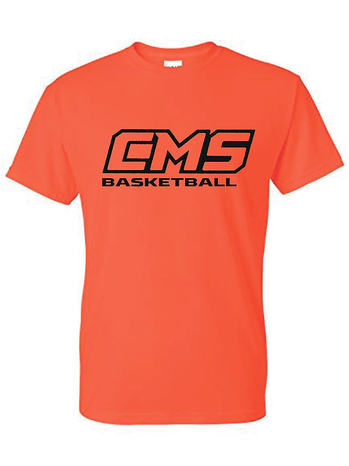 Gildan T-shirt (design 5) Available in black, or orange