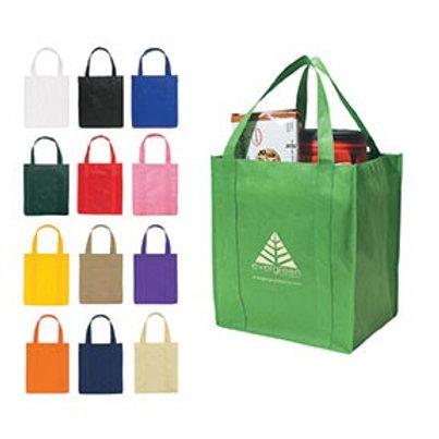Non-Woven Shopper Tote Bag- Box of 100