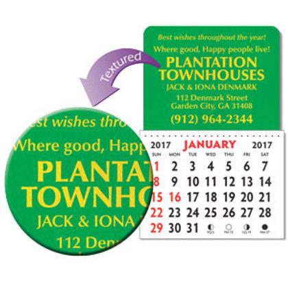 Kwik-Stik® Designer Shaped Textured Vinyl Calendars - Box of 250