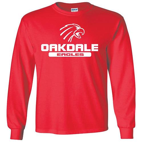 Oakdale Design 2 long sleeve  RED