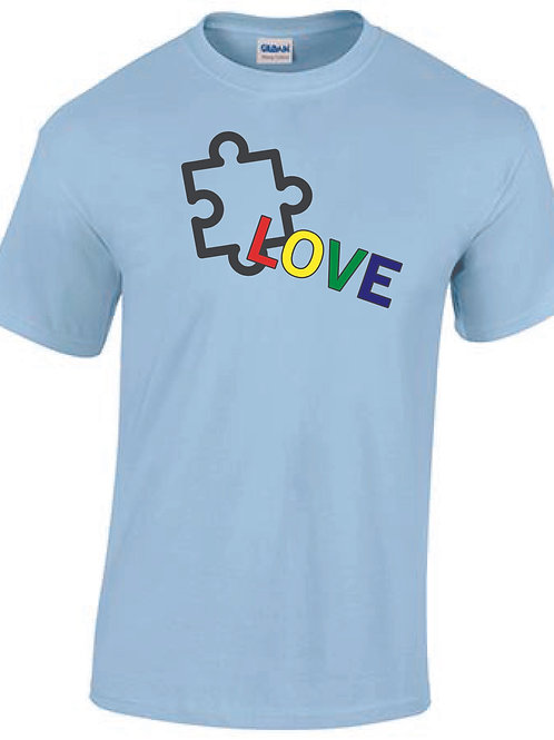 Autism awareness t-shirt (available in 9 colors)