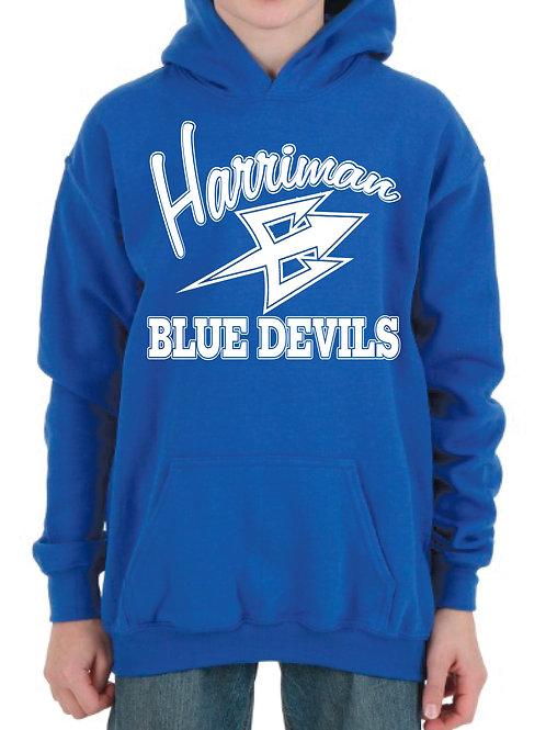 Harriman Blue Devils Hoodie - Gildan