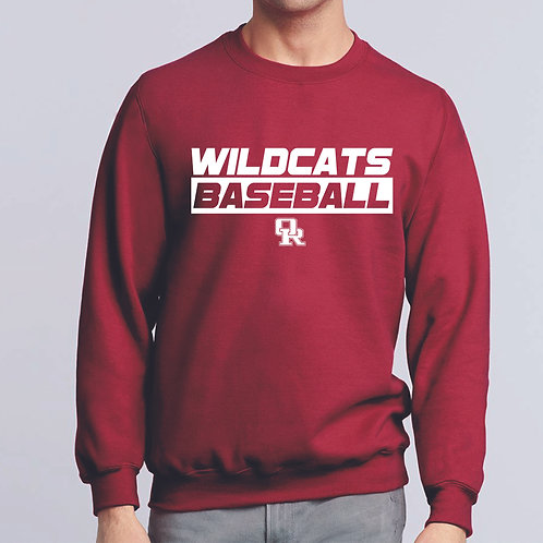 Long sleeve cardinal t-shirt - Wildcat design