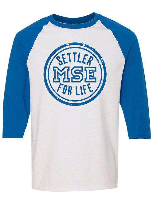 Settler for life 3/4 sleeve