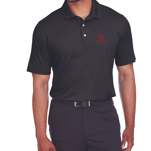 Performance polo - black (left chest Oak Ridge Baseball logo)