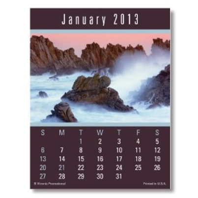 Press-N-Stick Calendar - Scenic - Box of 150