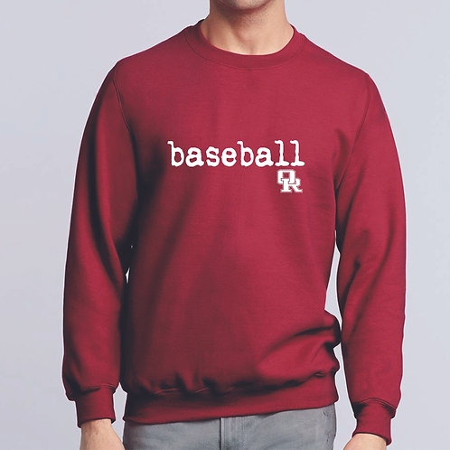Cardinal sweatshirt - no hood - qwerty design