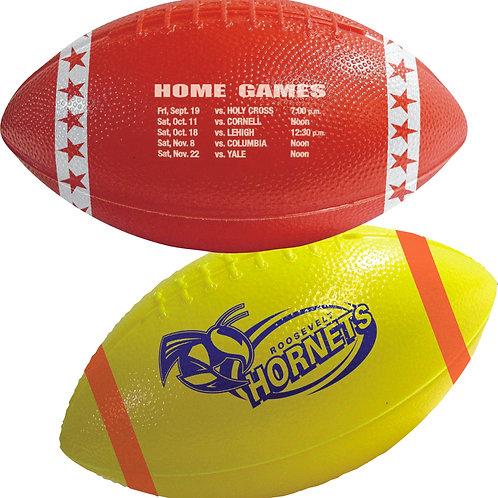"6"" Plastic Football (Box of 100)"