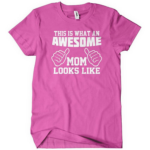 Awesome Mom/grandma/meme/nanny T-shirt