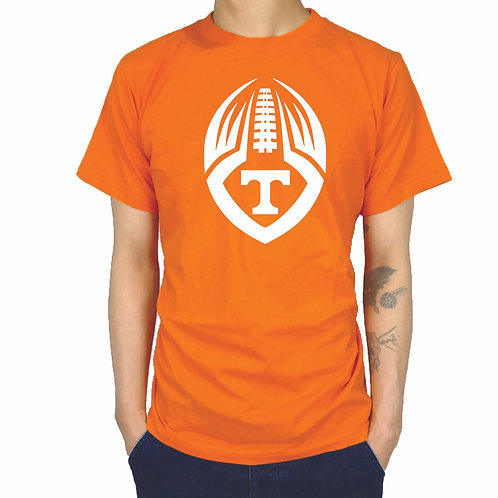 Flying football t-shirt