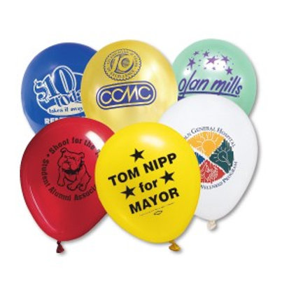 "Advertising Balloons - 11""- Box of 1000"