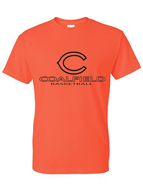 Gildan T-shirt (design 2) Available in black, or orange
