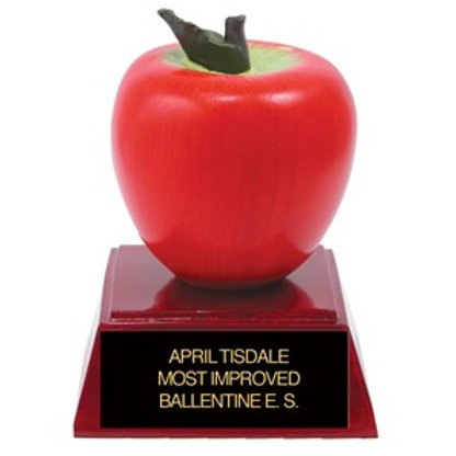 Sculpted Apple Trophy