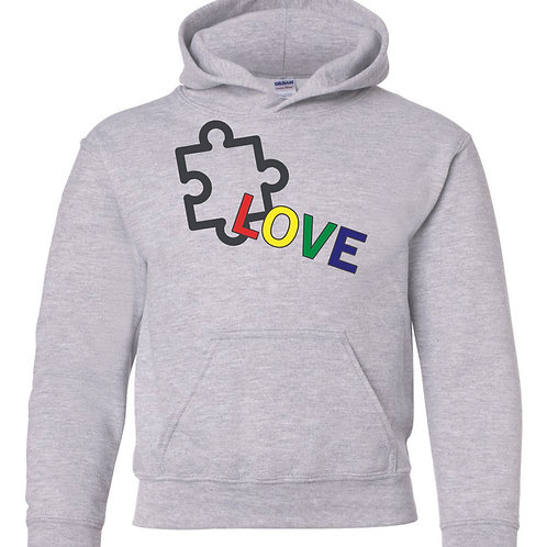 Autism awareness hoodie (available in 6 colors)