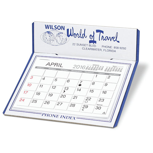 Customized Desk Calendar -Box of 150