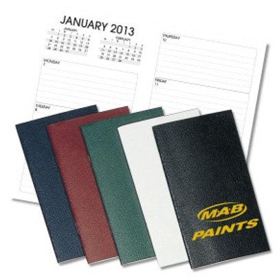 Leatherette Planners - Weekly - Box of 100