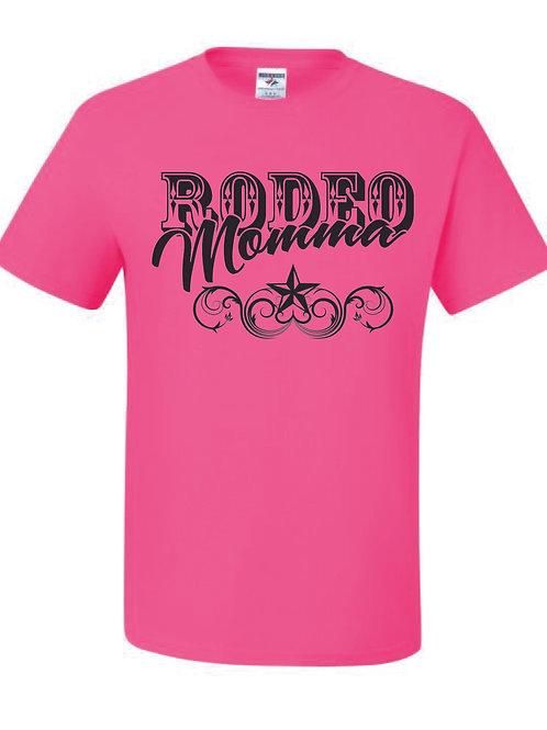 Lil' Wranglers Design 2 hot pink t-shirt