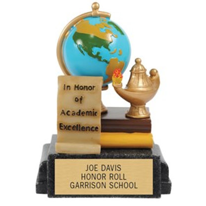 Academic Excellence Colorful Trophy