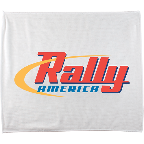 "15"" x 18"" Poly Blend Rally Towel - Box of 100"