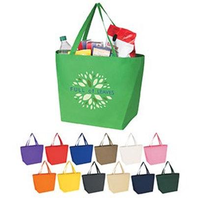 Non-Woven Budget Shopper Tote- Box of 250