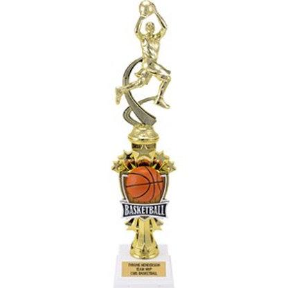Boys Basketball Sport Award Trophy