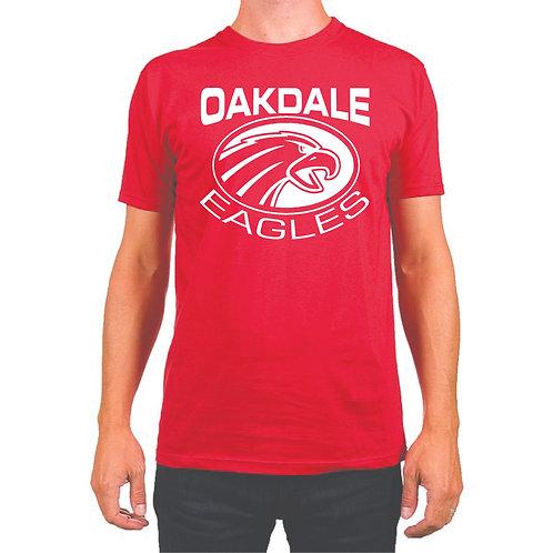 Oakdale Design 1 t-shirt  RED