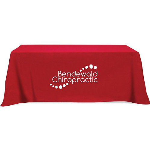 Table Cloth - 3 sided; 8' - 1 color