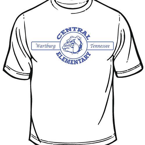CES short sleeve t-shirt by Gildan White