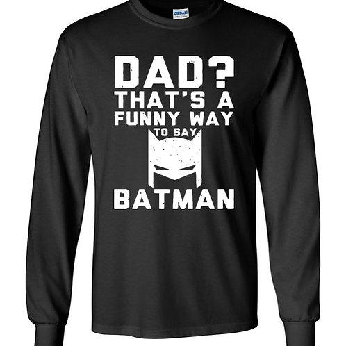 Father's day batman - t-shirt