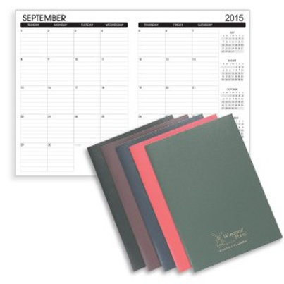 Colored Date-Rite Planners - Box of 50