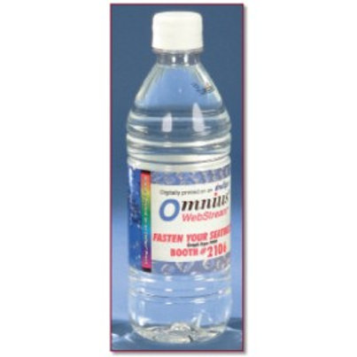 Bottled Spring Water With Flat Cap - Box of 144