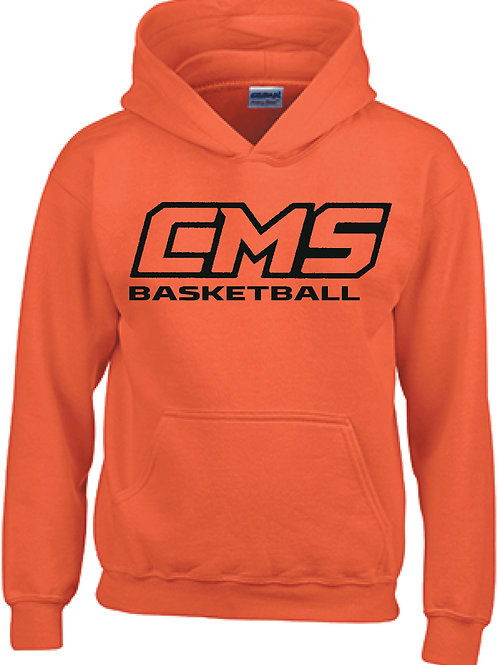 Gildan Pullover Hoodie (design 5) Available in black, or orange