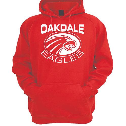 Oakdale Design 1 Hoodie  RED