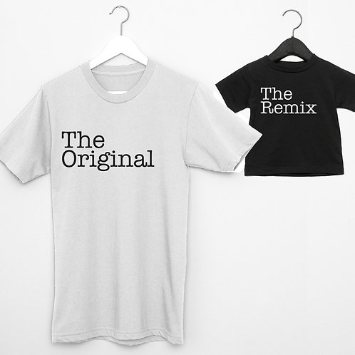 Original/remix shirts