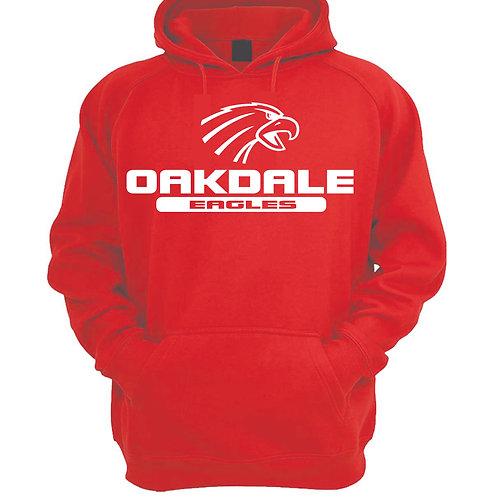 Oakdale Design 2 Hoodie  RED