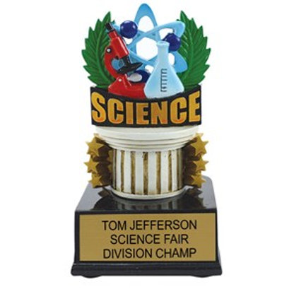 Science Scholastic Color Trophies