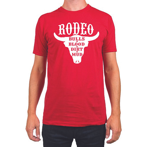 Lil' Wranglers Design 1 Red t-shirt