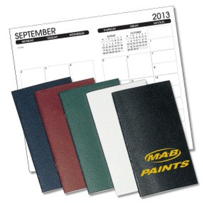 Leatherette Planners - Monthly - Box of 100