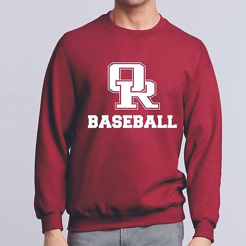 Cardinal sweatshirt - no hood - Traditional design