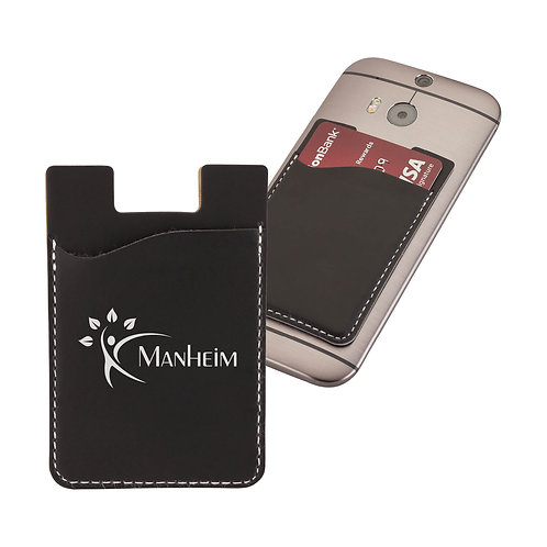 Manhattan Leatherette Phone Wallet - Box of 200