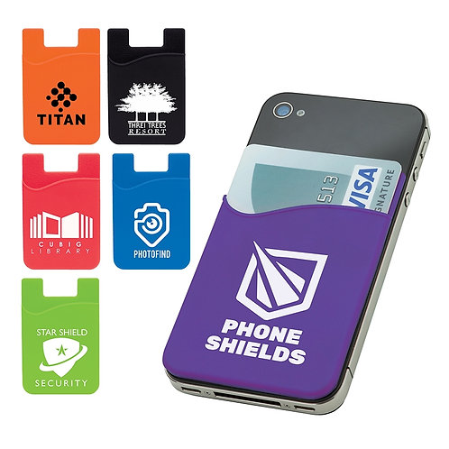 Silicone Phone Wallet (Box of 250)