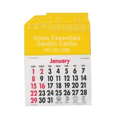Press-N-Stick Calendars - House - Box of 150