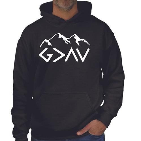 God is greater hoodie