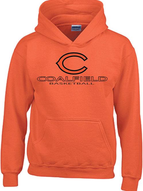Gildan Pullover Hoodie (design 2) Available in black, or orange