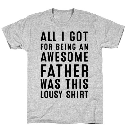 Father's day awesome father - t-shirt