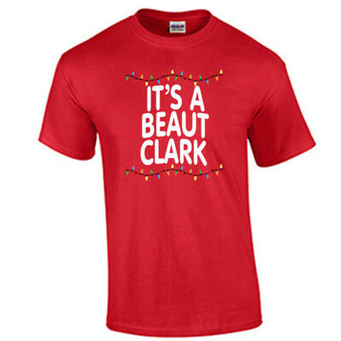 """It's a beaut Clark"" t-shirt- LONG SLEEVE"