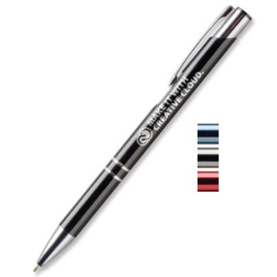 Sonata Metal Pen Laser Engraved Box of 100