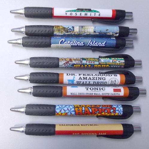 Premium ballpoint pen (no minimum) Full color