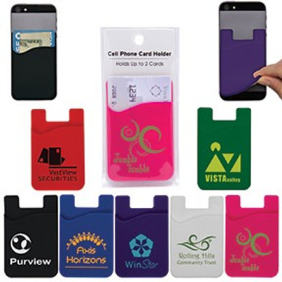 Cell Phone Card Holder- Box of 100